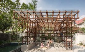 Vườn Ao Chuồng Library by Farming Architects