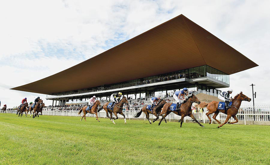 Curragh Racecourse by Grimshaw