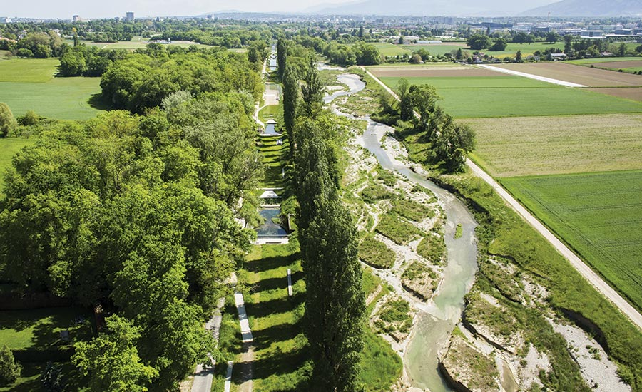 A Swiss River Canal Reimagined