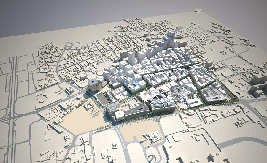 Master Plan in Qatar Raises Bar for Mixed-use Development
