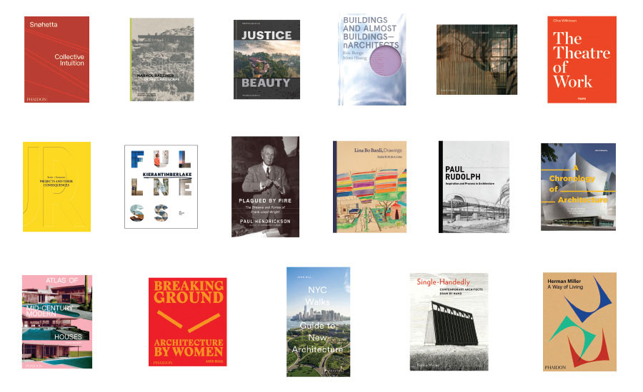 Holiday Roundup of Architecture Books 2019