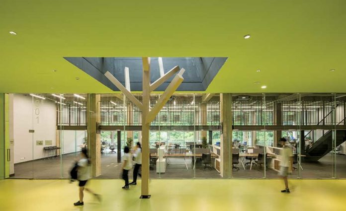 Ming-De Academy by O-office Architects