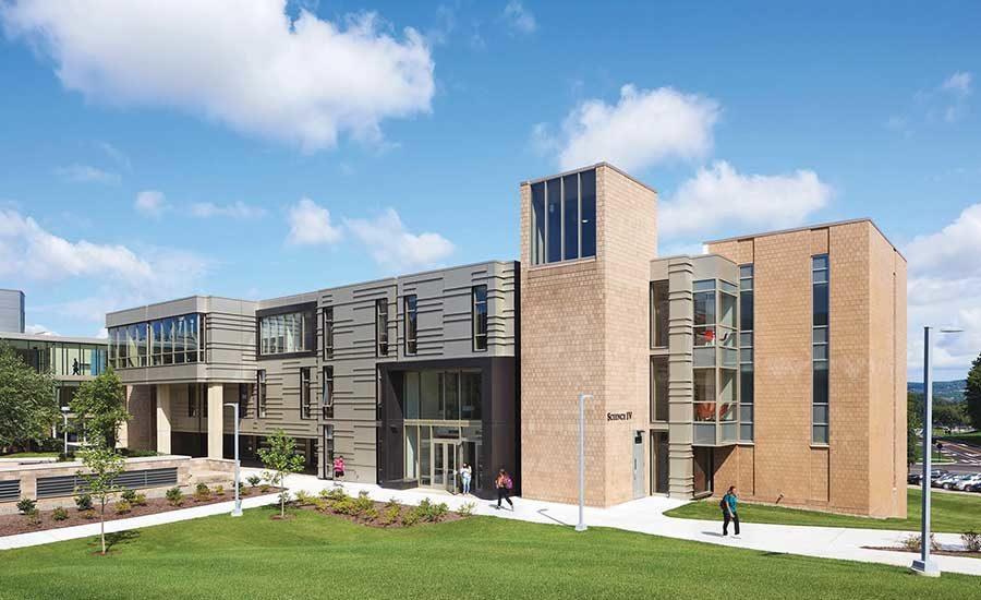 Binghamton Calendar 2022.Binghamton University S Science Iv Building Upgrades Look 2019 01 15 Architectural Record
