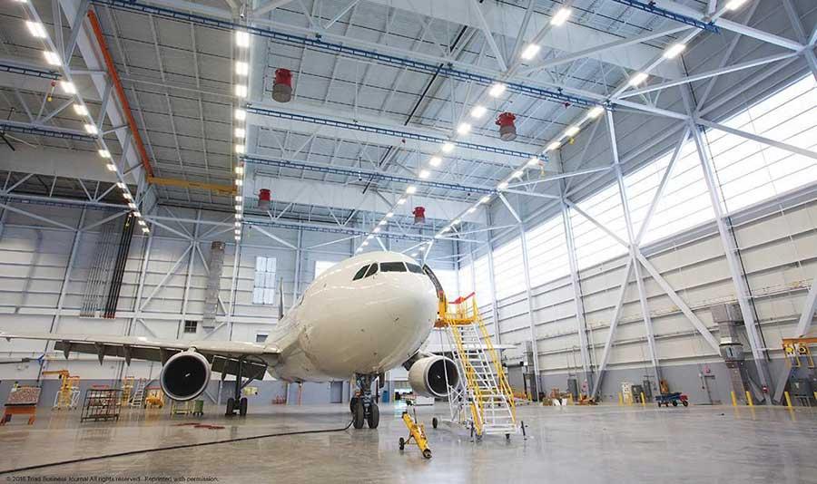 N C Airport Hangar Gets Energy Efficient Wall System 2019