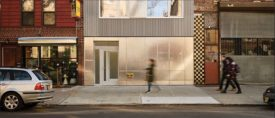 A five-story condo building in Brooklyn by ZH Architects.