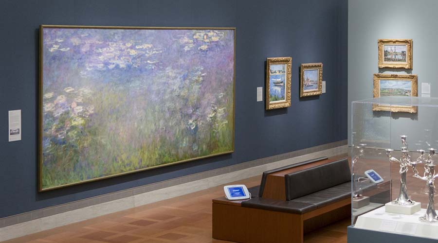 Monet's Water Lilies at the Nelson Atkins Museum.