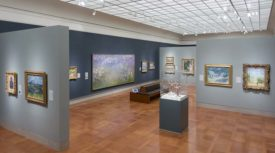 Claude Monet's Water Lilies, several of which are on display at the Nelson-Atkins Museum in Kansas City, Missouri.