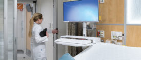SmithGroup used hands-free technology for its renovation of an oncology unit at Brigham and Women's Hospital in Boston.