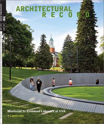 Architectural Record - August, 2020