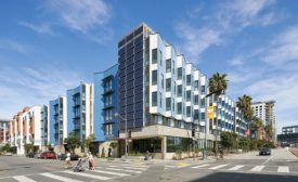 New affordable housing by LMSA in San Francisco.