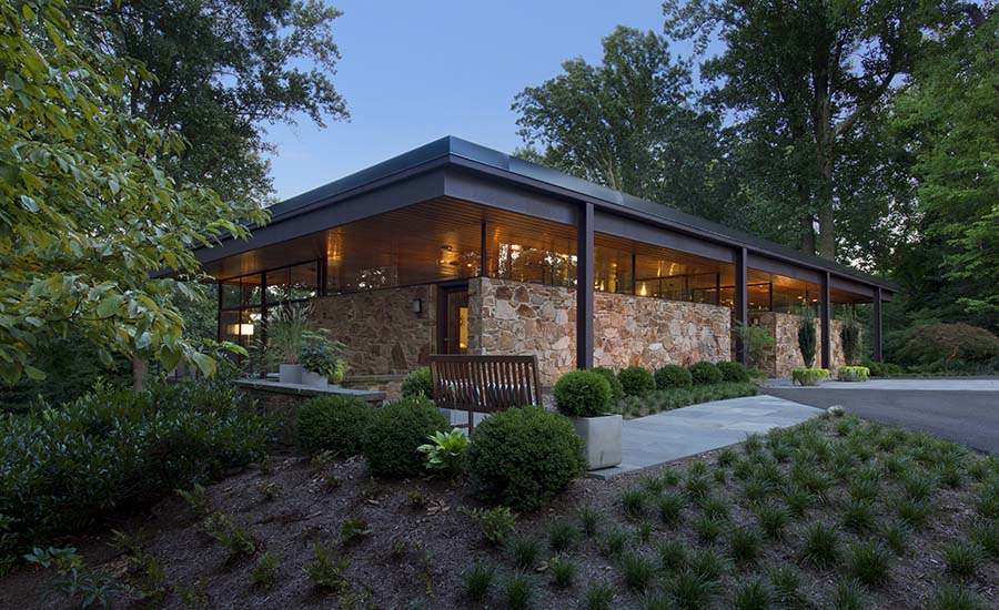 Midcentury Modern Dream by Rill Architects | 2020-10-16 ...