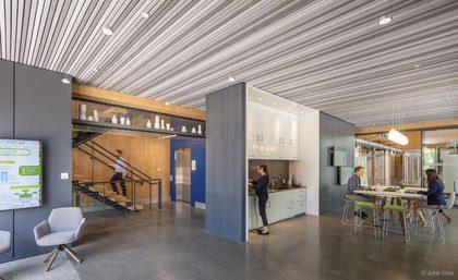 Modern Building Design with Felt.