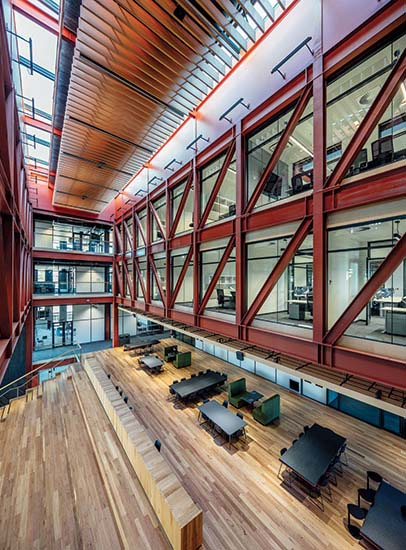 Woodside Building for Technology and Design.