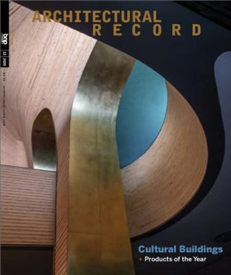 Architectural Record - December 2020