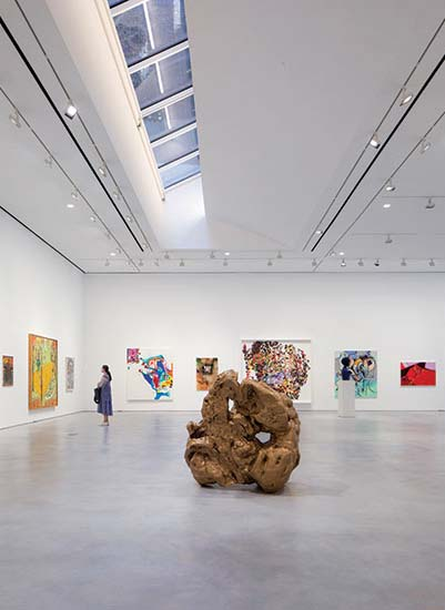 Hauser and Wirth Gallery.
