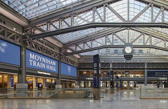 Moynihan Train Hall.