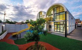 The new Salvazione Christian School building.