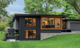 Golden Valley Midcentury Modern House.