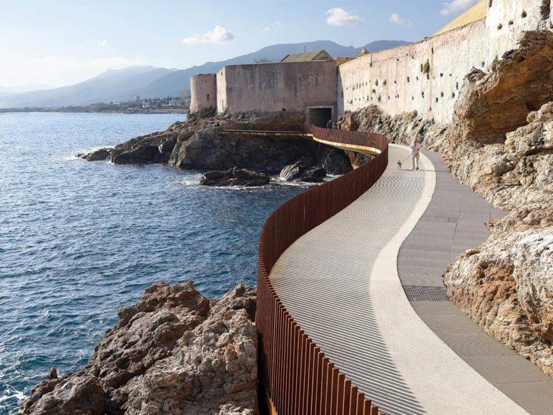 The Aldilonda Walkway.