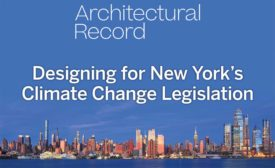 Designing for New York's Climate Change Legislation
