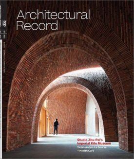 Architectural Record, July 2021.