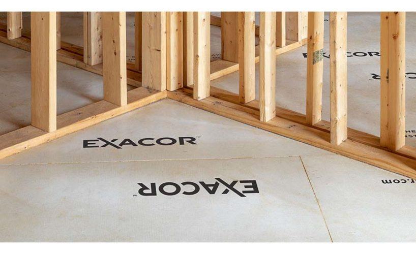 EXACOR magnesium oxide panels.