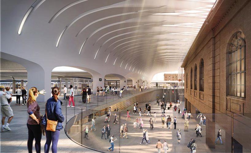 Sydney Central Station.
