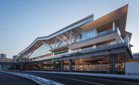 Takanawa Gateway Station.