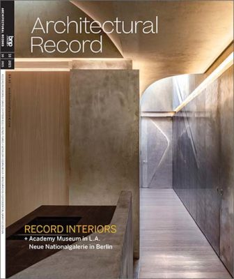 Architectural Record - October 2021