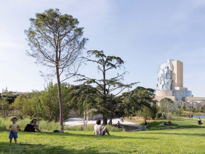 LUMA Foundation Park.
