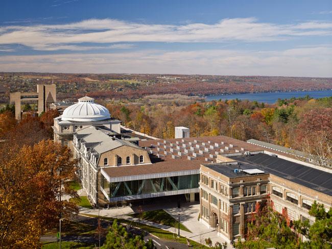 Milstein Hall, Cornell University | 2012-02-15
