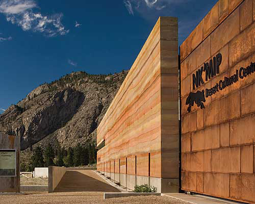 In Canada, A Rammed-Earth Wall for the Ages