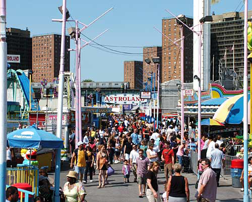 Coney Island Posed for Redevelopment