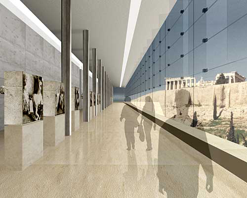 A Temple to Transparency Rises in Athens