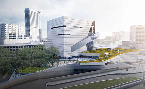 Morphosis Conducts Urban Experiment with Perot Science Museum
