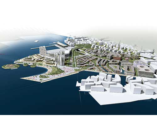Oslo Redeveloping Harbor