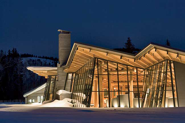Gold Medal Peter Bohlin 2007 05 16 Architectural Record