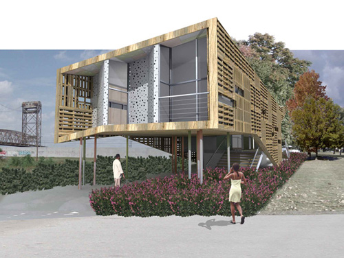 Pitt Unveils Sustainable Design for New Orleans