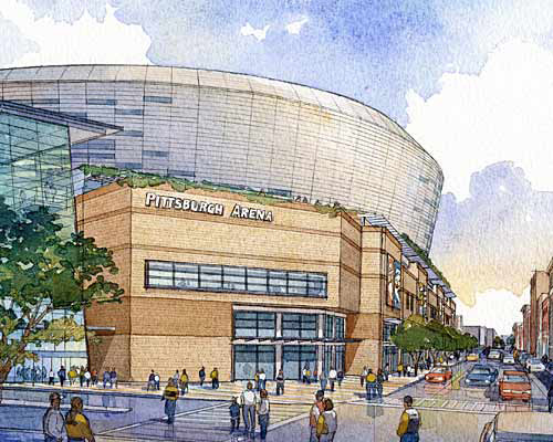 Pittsburgh's New Arena