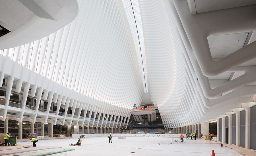 World Trade Center Transportation Hub 2016 03 03