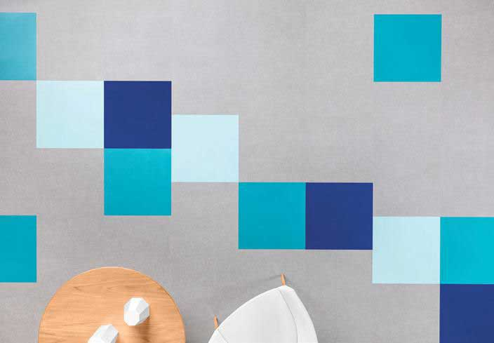 Parterre And Tarkett Introduce Colorful Vinyl And Rubber