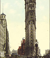 The New York Times Building at the Turn of the 20th-Century