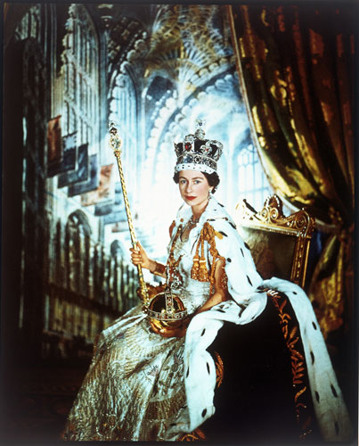 An exhibition of photographs of Queen Elizabeth II by Cecil Beaton closed at the V&A in April. It included an image of the Queen in coronation robes in 1953.