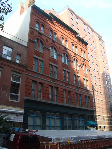 Building on East 12th Street in New York City's East Village