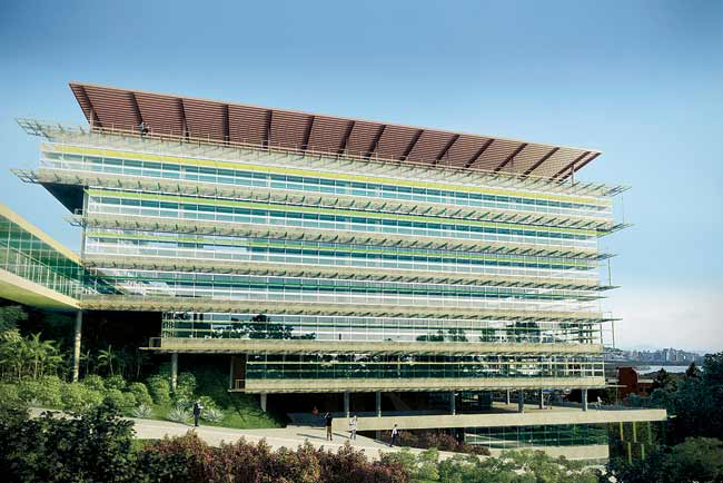 In 2012, the firm designed headquarters for two government agencies for the state of Santa Catarina in south Brazil.