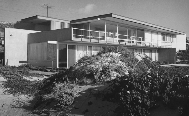 Preservationists are campaigning to add Richard Neutra's decaying 1958 Connell House in Pebble Beach, California, to the National Register of Historic Places to deter the current owner from demo