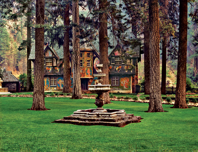 Studies in Paris would lead Julia Morgan to the playful Bear House at Wyntoon in Oregon (1933).
