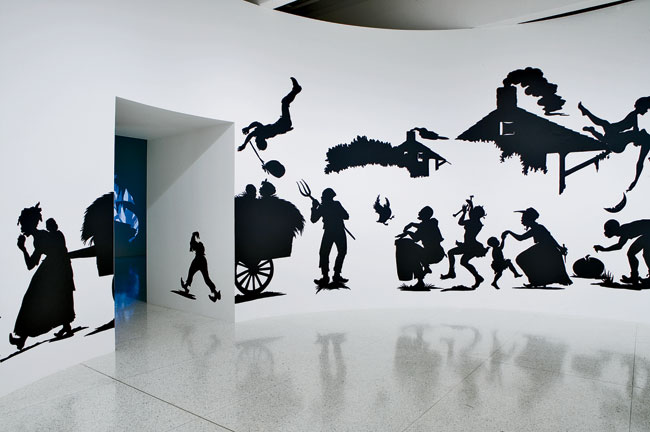 Kara Walker&rsquo;s <em>My Complement, My Enemy, My Oppressor, My Love, 2007</em>, was installed at the Walker Art Center in Minneapolis.
