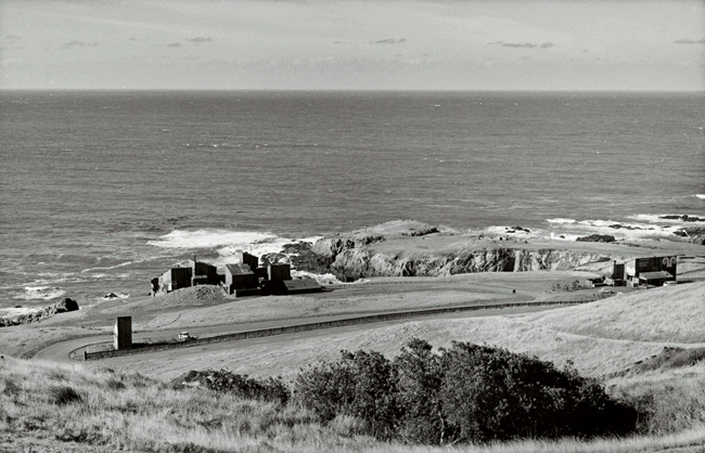 The Sea Ranch in 1965, before the grasses, cypress, and other natural plantings took over the grazed land.