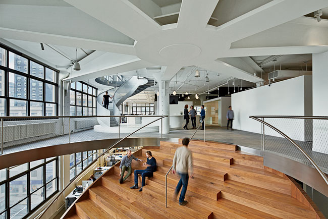 WORKac just completed offices in New York City for Weiden & Kennedy.